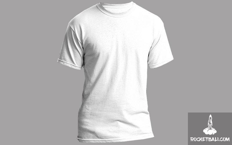 Baju Warna Putih Untuk Dalaman Kemeja Pantai