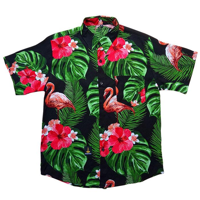 Baju Pantai Distro Motif Flaminggo
