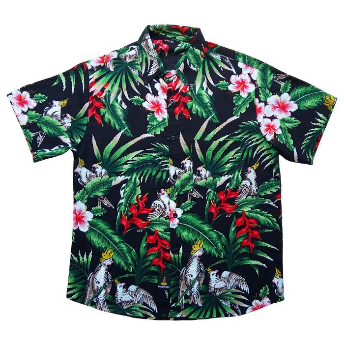 Kemeja Floral Motif Major Mitchell